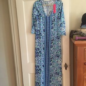 NWT Lilly Pulitzer maxi dress size large